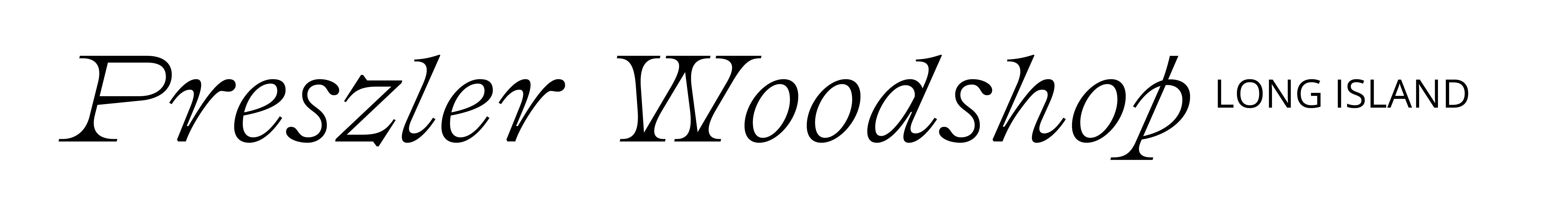 Prezler Woodshop